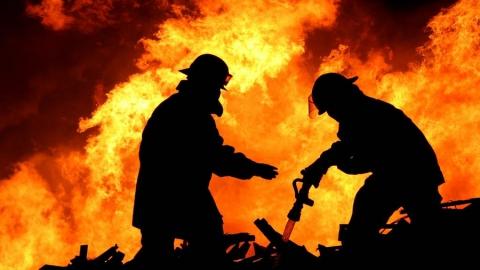 В Энгельсе на пожаре погиб инвалид