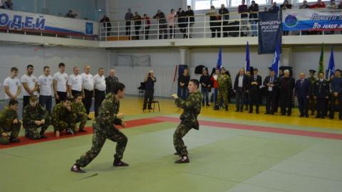 В Саратове прошел открытый турнир по армейскому рукопашному бою