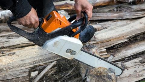 Обрезающий деревья мужчина скончался после падения с лестницы