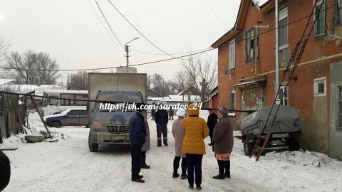"""""""Газель"""" снесла трубу и оставила восемь квартир без газа"""