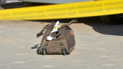 Остановку общественного транспорта оцепили из-за угрозы взрыва