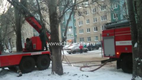 Саратовец принял решение приготовить обед набалконе ислучайно устроил пожар