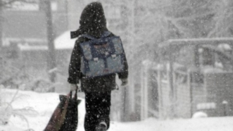 В саратовских школах из-за мороза отменили занятия в 1-6 классах