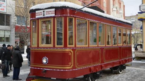"""Экскурсии в трамвае """"Семен"""" для саратовцев начнутся с 22 декабря"""