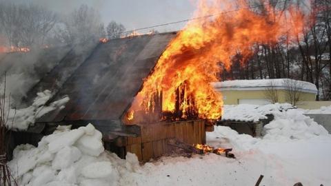 В Саратовской области за сутки сгорели три бани