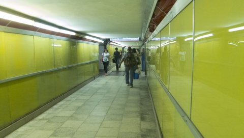 В тоннеле железнодорожного вокзала скоропостижно скончался мужчина
