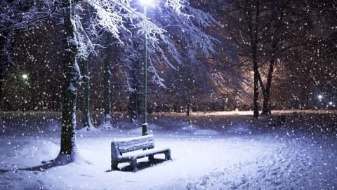 Днем в Саратове обещают -14 и снегопад