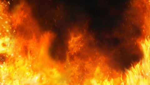 Две девочки погибли на ночном пожаре под Саратовом