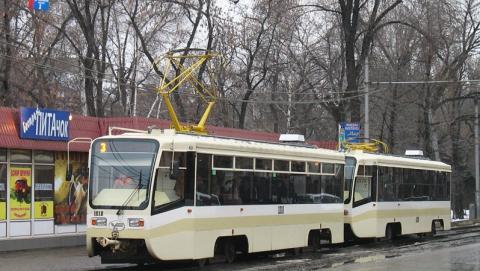 Из-за обрыва проводов остановилось движение трамваев и троллейбусов