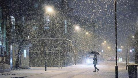 Вечером в Саратове пойдет снег и похолодает до -8