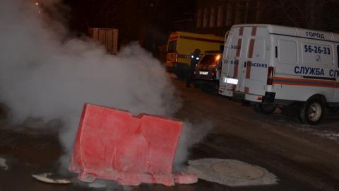 В центре Саратова нет отопления из-за аварии на теплотрассе