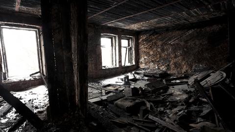 Две девочки в Дубках погибли на пожаре из-за замыкания проводки