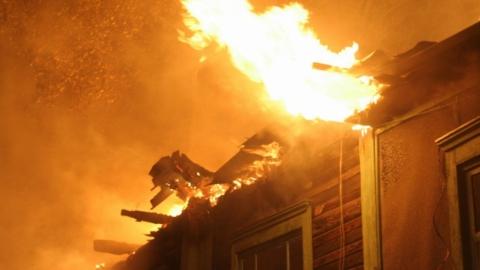 На пожаре в летней кухне умер саратовец