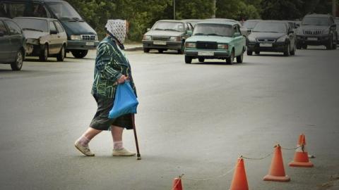 """На улице Володарского """"Лада Гранта"""" сбила пенсионерку"""