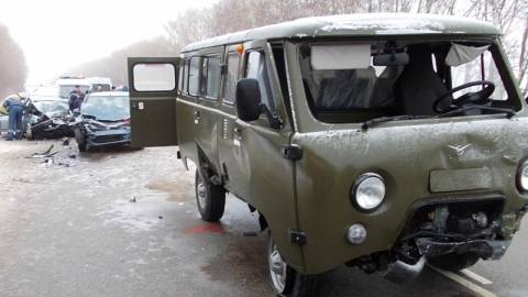 Саратовец стал причиной массового ДТП в Воронежской области