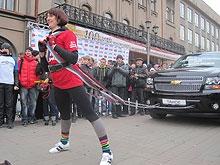 Челябинская спортсменка установила в Саратове рекорд