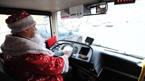 В новогоднюю ночь общественный транспорт будет ходить до 3:00