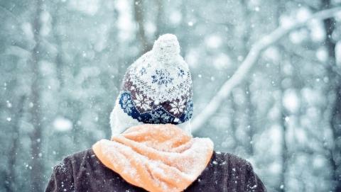 Днем в Саратове пройдет небольшой снег