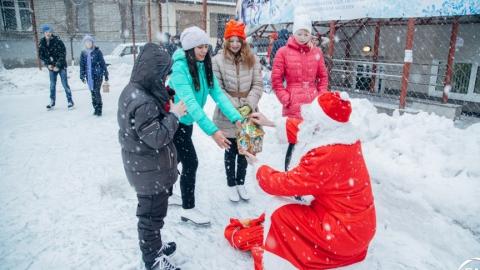СГЮА организовала новогодний праздник для детей и студентов