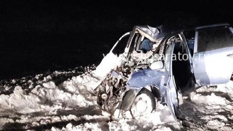 """В аварии с грузовиком погиб пожилой водитель """"Лады Калины"""""""