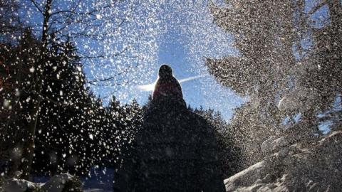 Саратовцам обещают снег в начале рабочей недели