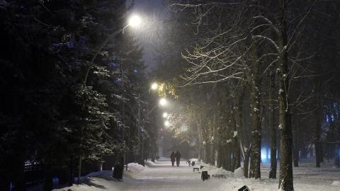 В Саратове будет слабый снегопад и -6 днем