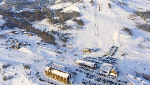 На новогодние праздники на курортах Хвалынска отдохнули 50 тысяч туристов