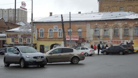 На Радищева столкнулись четыре автомобиля