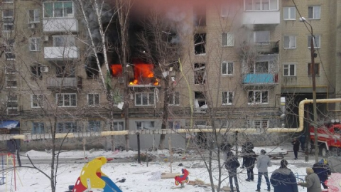 В Саратове произошел взрыв в многоэтажном доме