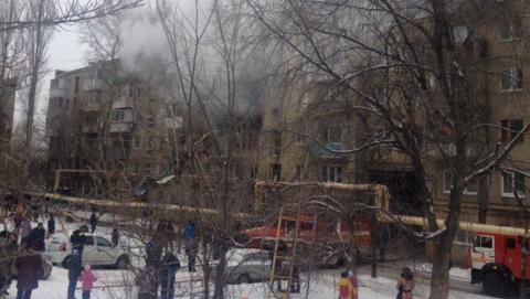 Взрыв газа не сломал  межэтажные перегородки вдоме наМосковском шоссе