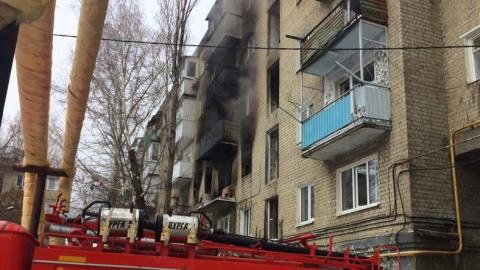 К разрушенному взрывом дому вечером прилетит борт МЧС России