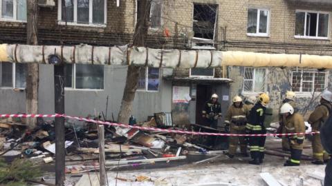 После взрыва бытового газа в саратовской многоэтажке возбуждено уголовное дело