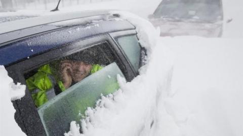 Заблудившемуся под Пензой саратовцу помогли cотрудники экстренных служб наснегоходе