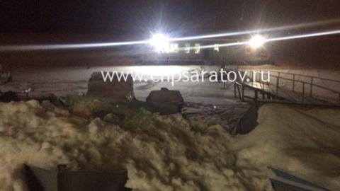 В ушедшем под лёд снегоходе погибли двое детей и их отец