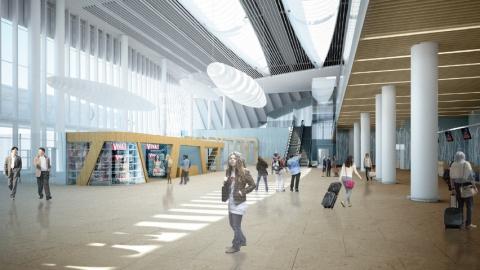 Отобраны 14 претендентов настроительство пассажирского терминала вСабуровке