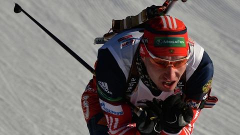 Русские  биатлонисты завоевали бронзу всмешанной эстафете наЧМ