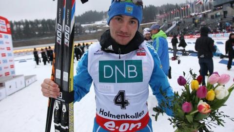 Биатлонист Логинов завоевал бронзу на чемпионате мира в Австрии