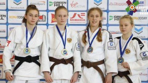 Юные саратовские дзюдоистки завоевали медали Кубка Европы