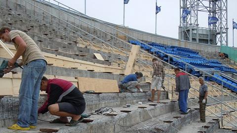 Только один стадион в Саратове не требует ремонта