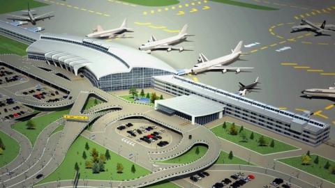 Строительство аэропорта «Центральный» вСаратове завершат доконца следующего 2018 года