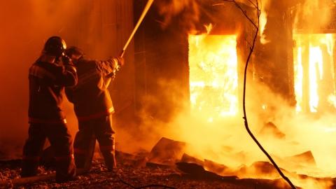 Впожаре в 2х-комнатной квартире под Балашовом умер мужчина