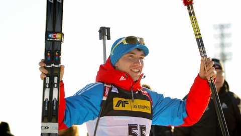 Саратовский биатлонист выиграл гонку преследования в Финляндии