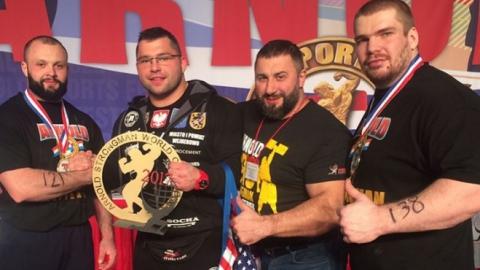 Ученик Вячеслава Максюты стал третьим на международном турнире силачей