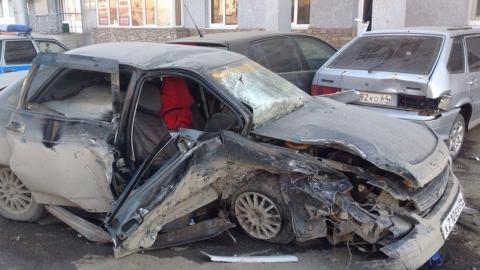 Вмассовом ДТП наулице Чернышевского пострадали 5 человек
