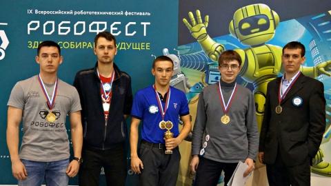 Студенты СГТУ стали чемпионами всероссийских робототехнических соревнований