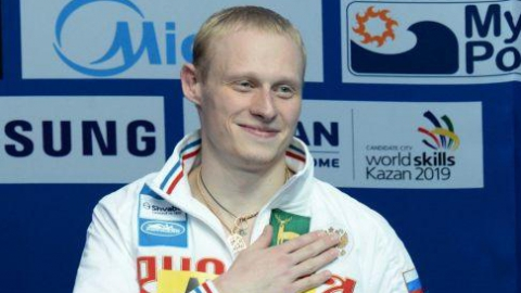 Илья Захаров стал третьим в Мировой серии по прыжкам в воду