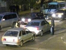 Рено и БМВ стали виновниками пробки в центре Саратова