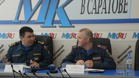 В Саратовской области снизилось число погибших на пожарах