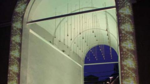Насаратовской Набережной включат подсветку исторической арки «Звонница»