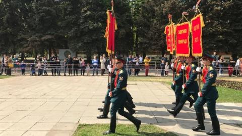 На Театральной площади состоялся Парад Победы